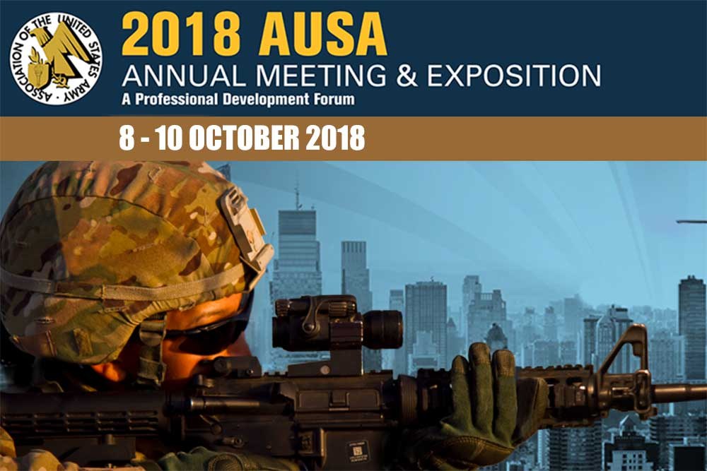 EOS, Electro Optic Systems, Exhibiting at AUSA, October 2018