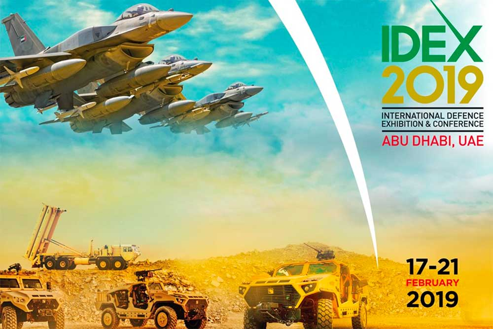 EOS, Electro Optic Systems, Exhibiting at IDEX in Abu Dhabi, February 2019