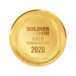 Soldier On Gold Pledge Seal